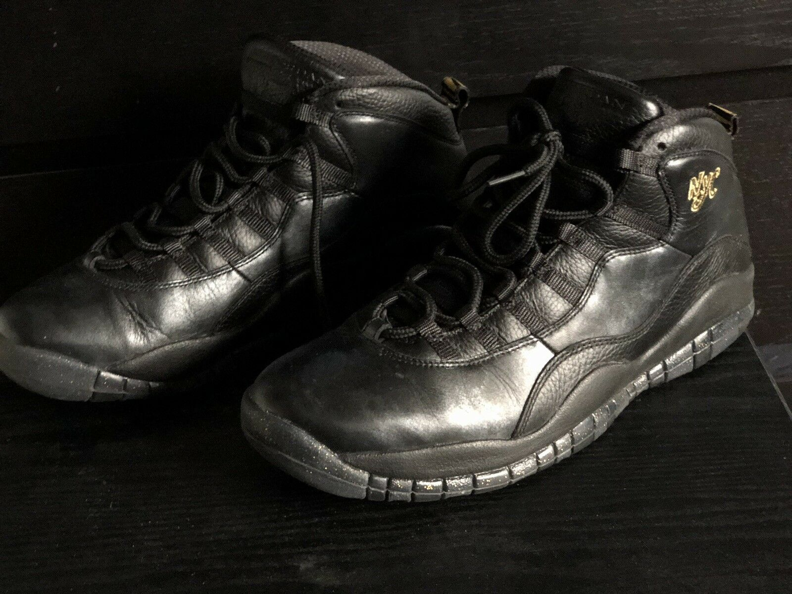 "Nike Air Jordan 10 Size 12 ""nyc"""