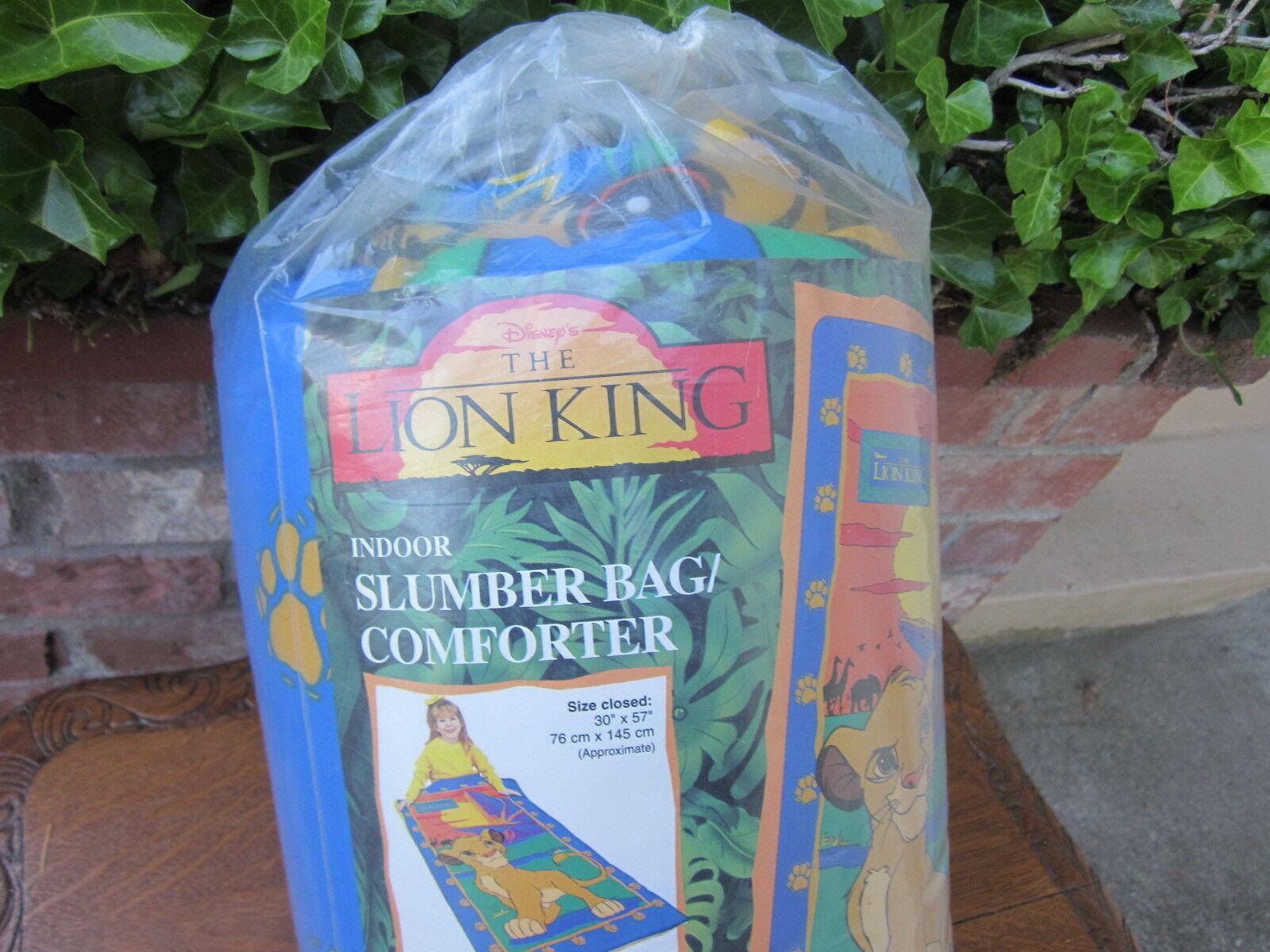 The Lion King-INDOOR SLUMBER BAG COMFORTER- Bran new never opened