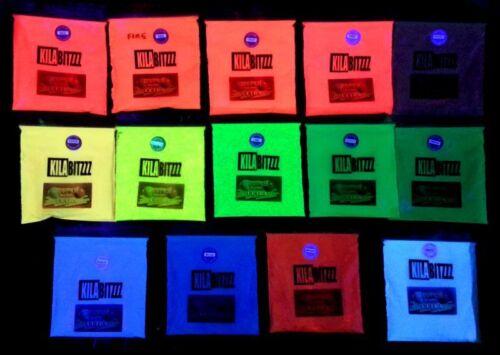 Verwendet Für Ultra Leuchtet Im Dunkeln Fluoreszierend UV Pigmentpulver 20g