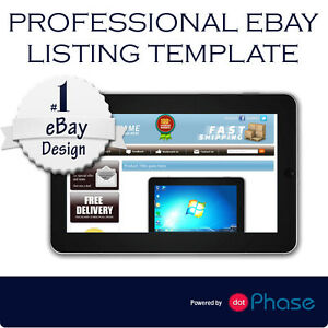 Professional EBay HTML Listing Template Auction Template Unique - Professional ebay listing templates