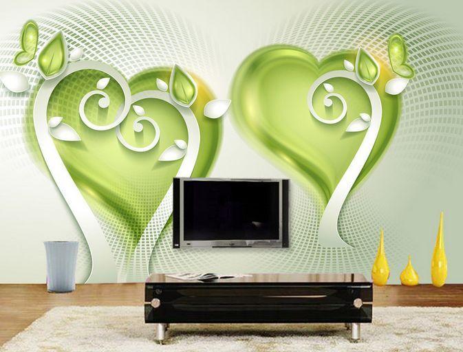 3D cuore modello 22 Parete Murale Carta da parati immagine sfondo muro stampa