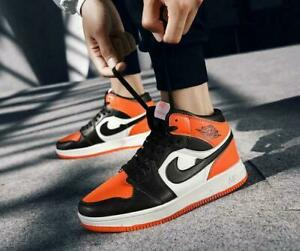 Men-039-s-Hot-Basketball-Shoes-Sports-Sneakers-Air-Cushion-Skateboard-Athletic-Shoes
