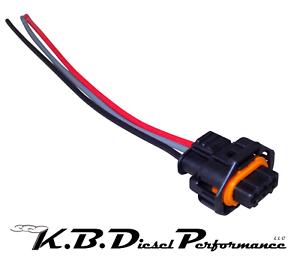 image is loading fuel-rail-sensor-wiring-harness-pigtail-6-6l-