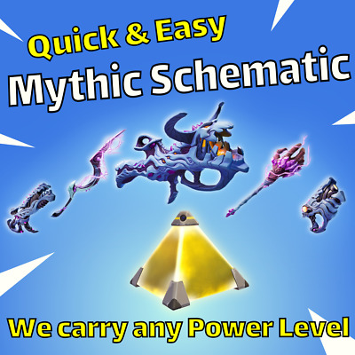 Fortnite Save The World What To Do With Schematics Mythic Weapon Schematic Msk Storm King Carry Fortnite Save The World Ebay