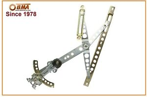 Details about Mercedes W123 230 240D Front Right Window Regulator Assembly  (77-83) 1237203646