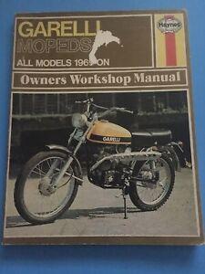 1969-HAYNES-GARELLI-MOPED-WORKSHOP-MANUAL-1970-1971-1972-1973-1974-1975