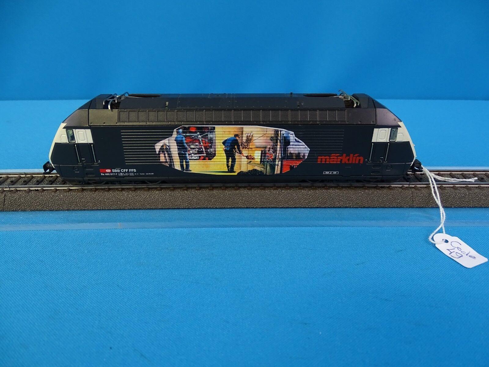 Marklin 3751 SBB CFF Electric Locomotive Br 460