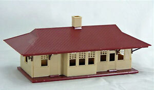 Bachmann-Plasticville-U-S-A-HO-Scale-Structure-Kit-Rural-Station
