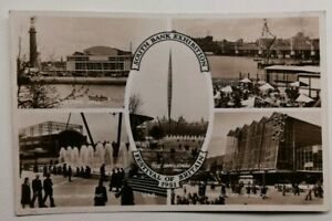519-Antica-Cartolina-South-Bank-Exhibition-Of-British-London-Tessuto-1951