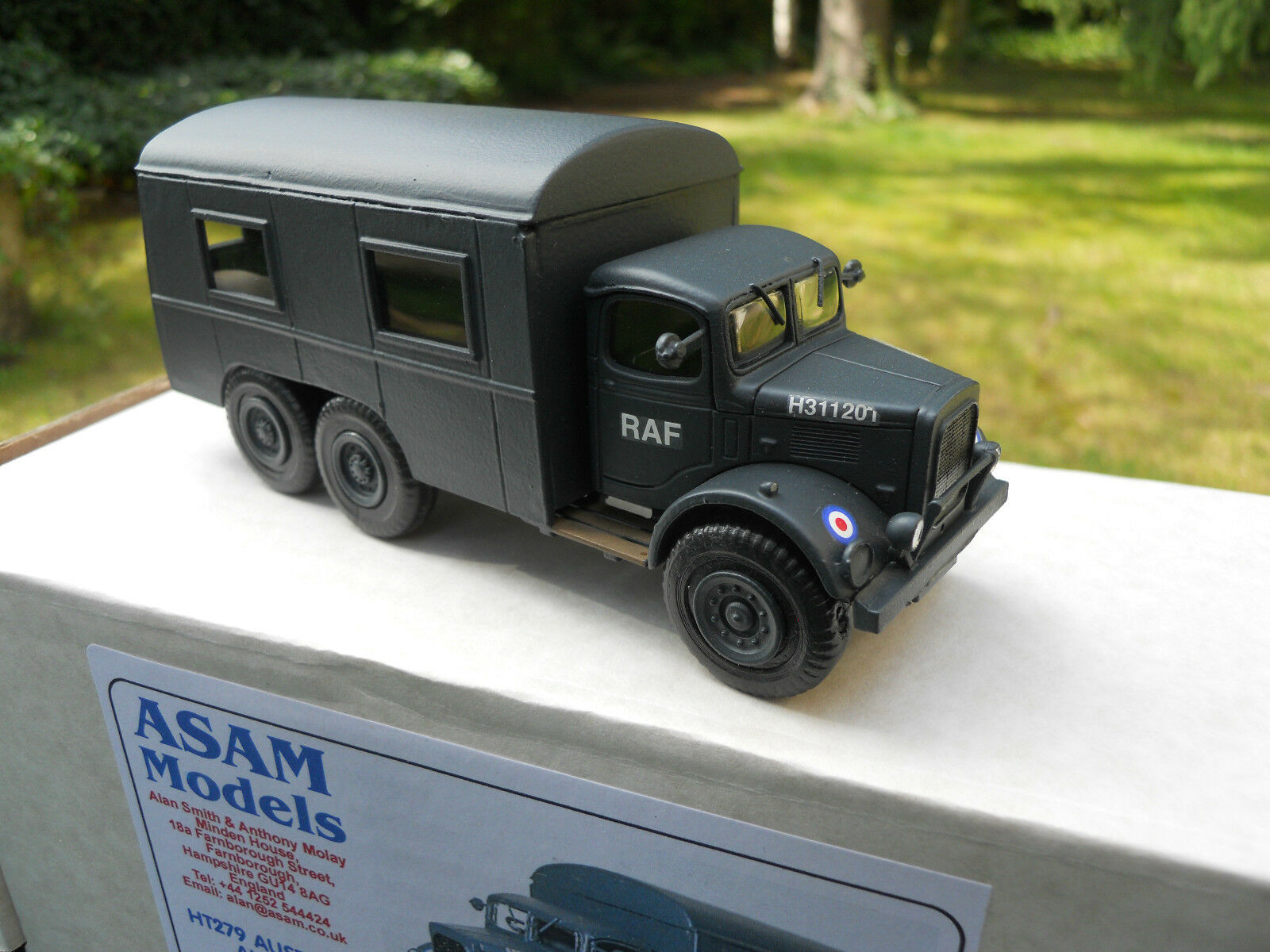 VEHICULE MILITAIRE ASAM MODELS MODELS MODELS REF HT 279 AUSTIN K6  6X4 RAF CREW BUS MINT BOX   New Style  c34ab8