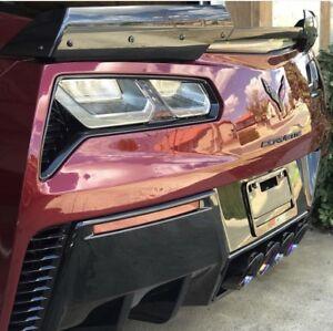 Corvette C7 Z06 Zo6 Grand Sport Stingray Oem Stage 2 Wicker Spoiler Carbon Flash Ebay