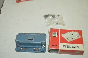 RELAIS-UNIVERSEL-REF-9893-JOUEF-TRAIN-HO-VINTAGE-NEUF-RELAY