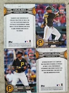 Details About 2018 Topps National Baseball Card Day Pittsburgh Pirates Sga Cards Bell Vazquez