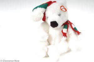 d8354220cf5 TY Christmas Plush Polar Bear Hat   Scarf 14
