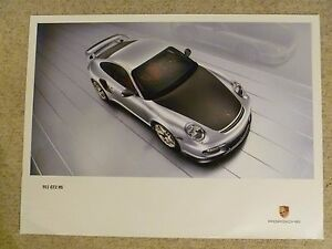 2010-Porsche-911-GT2-RS-Coupe-Showroom-Advertising-Sales-Poster-RARE-Awesome