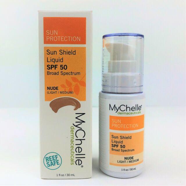 MyChelle Sun Shield Liquid Tint SPF 50 in Nude Oil