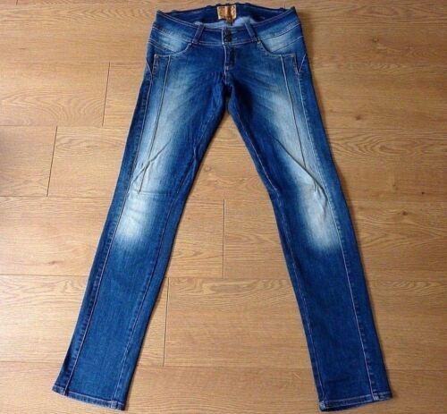 Mayo Chix SABINA Ladies Skinny Slim Stretchy Blue Jeans Size Large W29 L31