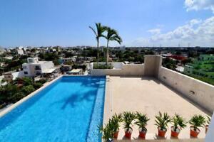 En venta departamento de 2 recámaras en  Playa del Carmen (549)