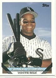 1993 Topps Frank Thomas 150 Baseball Card