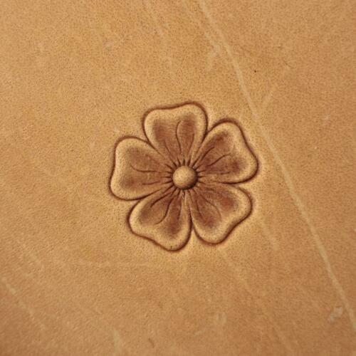 Leather crafting stamp tool crafts brass flower stamps #318