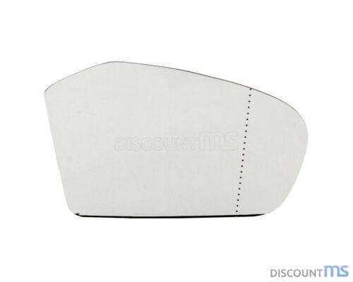 Vidrio pulido derecha cromado asphärisch calefactable para mercedes a1698100821 1698100