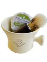 Old Fashioned Shaving Kit Choice 8 Handmade All Natural Shave Soap Mug & Brush