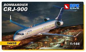 BPK-Bombardier-CRJ-900-Lufthansa-1-144-Bausatz-Art-14410-Aircraft-Plane