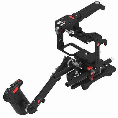 JTZ DP30 Camera Cage Baseplate Shoulder Handle Rig KIT For Panasonic GH3 GH4 GH5