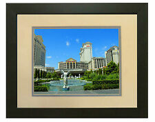 LAS VEGAS CAESARS PALACE BY DAY  8X10 PHOTO FRAMED TO 11X14