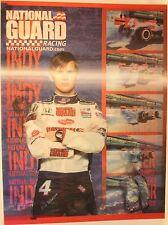 "Dan Wheldon Indy Racing 24 x 18"" 3D Poster Lenticular National Guard"