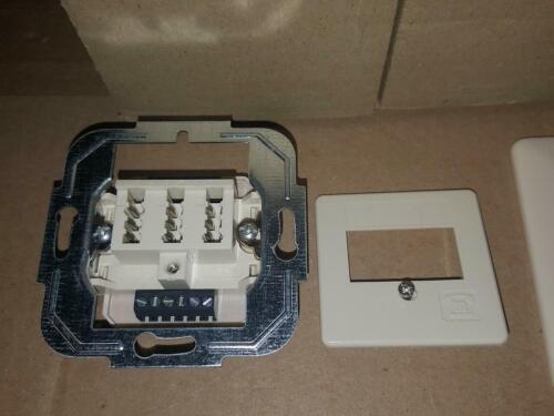 ZE TAE Dose NF//F 2x6//6 Unterputz einbau ZE Kommunikationstechnik NEU OVP