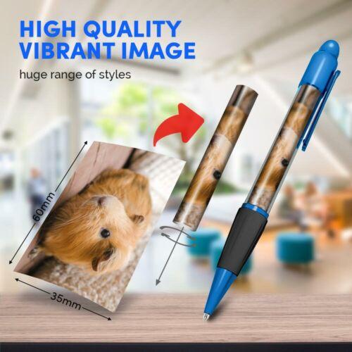Ginger Guinea Pig Pet Piggy  #45155 Blue Ballpoint Pen