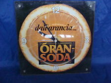 OROLOGIO ARANCIATA ORAN SODA PROMO OLD SIGN BAR MADE IN ITALY
