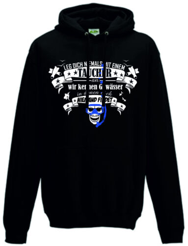 subacquea Shirt Sweatshirt Diving Diver's Diver Maschera Snorkel Gift Hoodie 0XPqH