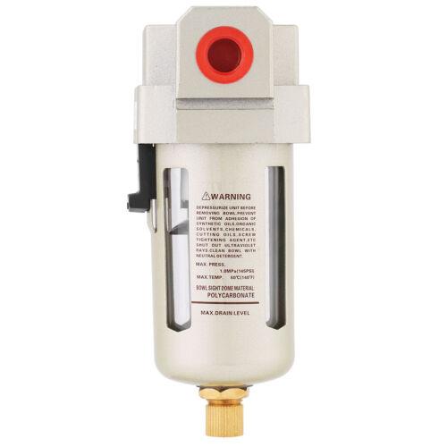 """3//8/"""" Compressed Air In Line Moisture /& Water Filter Trap AF3000-03  Compressor"""