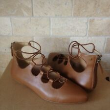 item 4 UGG LORIANNA CARAMEL LEATHER PARISIAN ELASTIC WRAP FLATS SHOES SIZE 5.5 WOMENS -UGG LORIANNA CARAMEL LEATHER PARISIAN ELASTIC WRAP FLATS SHOES SIZE ...