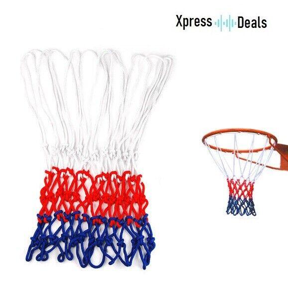 12 Cortinas De Baloncesto Net Rojo blancoo Azul Nylon vendedor del Reino Unido