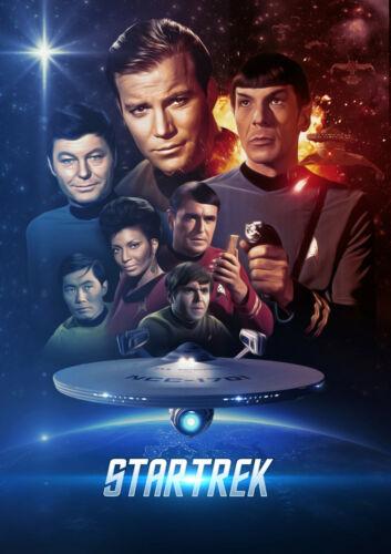 Star Trek Original Movie Poster Print /& Unframed Canvas Prints