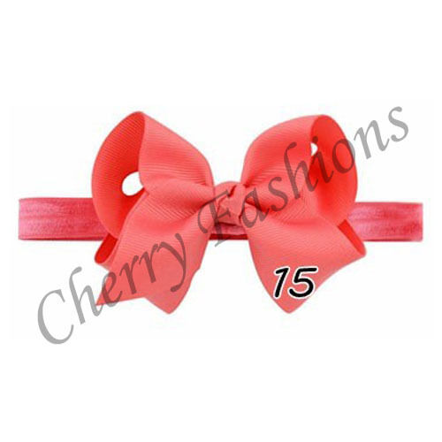 Baby Girls Hairband Bow Soft knot Elastic Band Headband Flower Hair Accessories