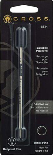 Choose Black//Blue//Red /& Broad//Medium//Fine Cross Standard Ballpoint Pen Refill