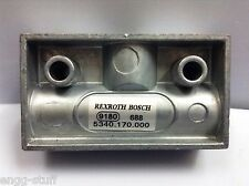 53401700000 REXROTH SHUTTLE VALVE  OR VALVE   M14X1.5  5340 170 000 0