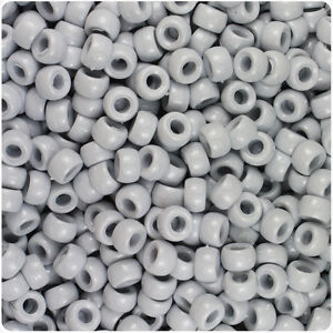 1000 Navy Blue Opaque 7mm Mini Barrel Plastic Pony Beads Made in the USA