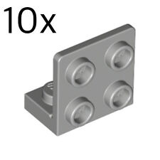 part #99207 LEGO X50 New Bulk Red Bracket 1 x 2-2 x 2 Inverted Up