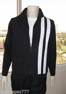 La foto se está cargando S-o-M-Speedway-de-chaqueta-de-Elvis-Negro-homenaje-  sc 1 st  eBay & S or M) ELVIS (BLACK) Speedway Jacket (Tribute Artist Costume) Pre ...