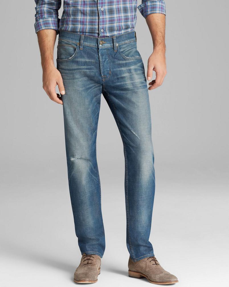 Hudson Blake Men's Slim Straight Jeans Sulphur Mines MADE IN USA  NEW 34x34