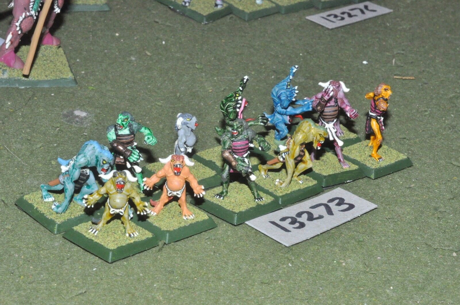 25mm japanese clan wars RPG 12 figures (13273)