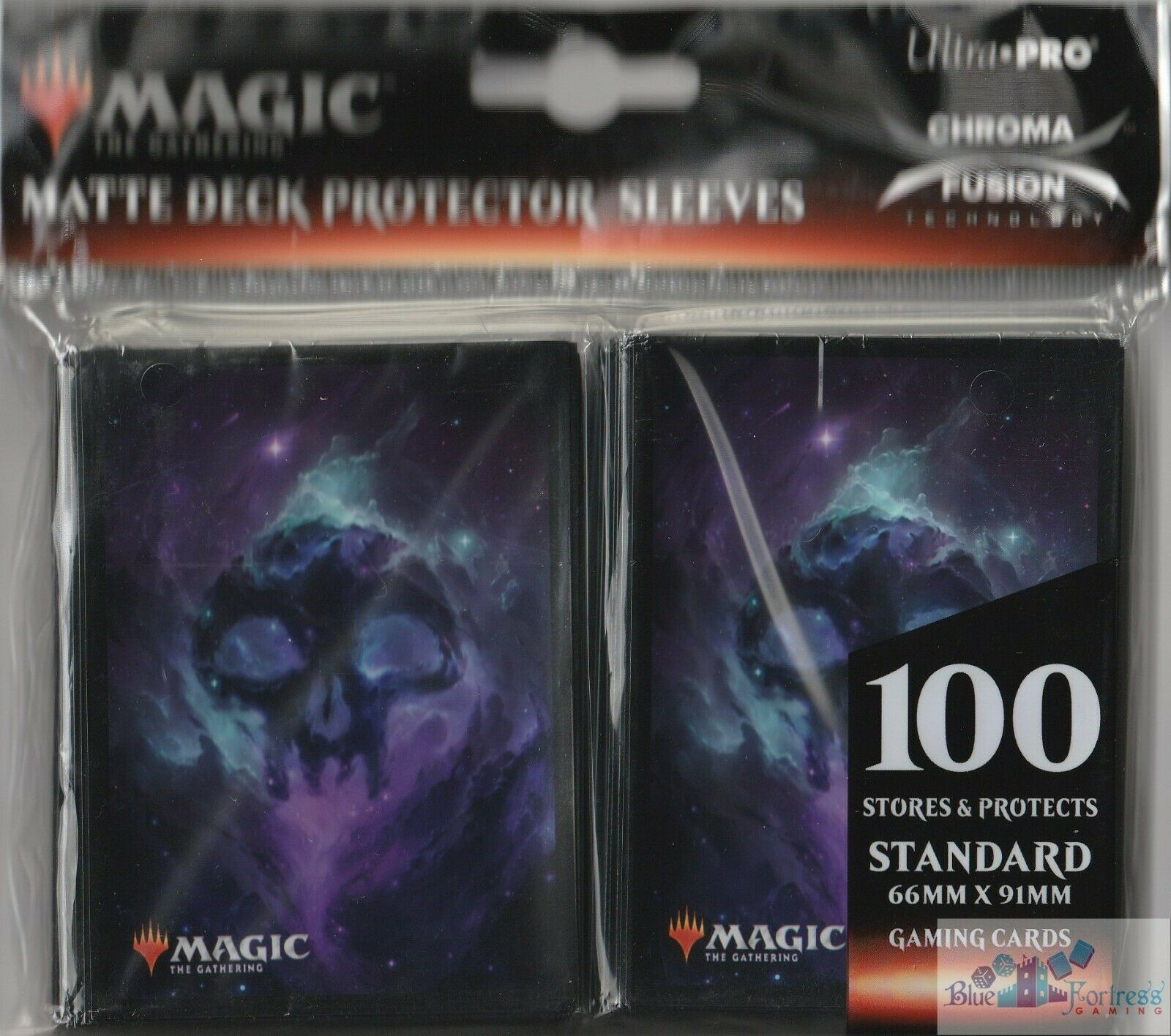 Ultra Pro Celestial Swamp Pro-100 Deck Box w//Divider and 100 Matching Sleeves