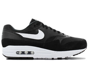 Nike-air-max-1-Men-039-s-Sneaker-AH8145-014-Black-Shoes-Fashion-Trainers-New