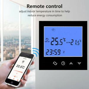 WiFi LCD Digital Wandthermostat Fußbodenheizung Programmierbarer Handy Controll