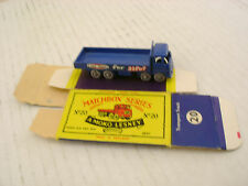 MATCHBOX LESNEY #20 ERF EVER-READY TRANSPORT TRUCK GPW R/A WITH ORIGINAL BOX